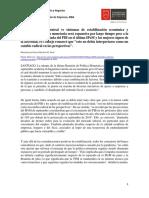 Caso 5. Problemas u objetivos macroeconómicos