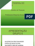 Aula 29, 30, 31, 32 - Grupo 06 - Gestão de Pessoas (fev-11)