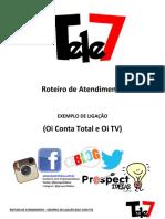 Script de vendas Oi Conta Total