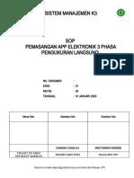 59. PL 3.02 SOP Pemasangan APP Elektronik 3 Ph Pengk Langsung