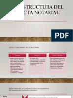 Estructura Del Acta Notarial
