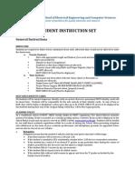student instruction set