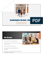 Instituições sociais escola