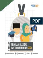 Booklet Pendaftaran PBSB 2021