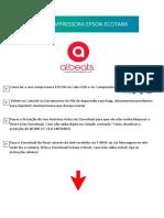 RESET IMPRESSORA EPSON ECOTANK MODELO ALBEATS 2020