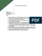 Alcatel Pa Calibration Procedure