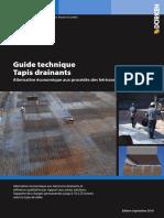 Guide Technique DELTA Tapis Drainants