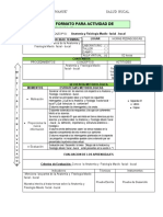 Ficha  de Aprendizaje - Salud Bucal