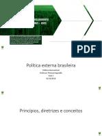 Teórico - Política Internacional - Quadro de aula 03