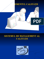 Curs 4 - Sistemul de management al calitatii