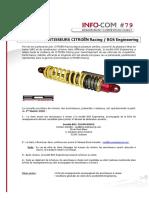 InfoCom N°079  Révision des amortisseurs BOS
