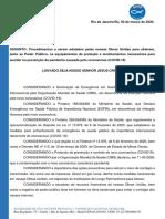 Circular 021 - Procedimentos a serem adotados pelas nossas Obras Unidas - Petição