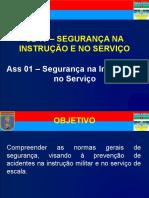 Segurança na Instrução e no Serviço
