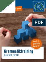 Probekapitel Grammatiktraining Deutsch Fuer b2
