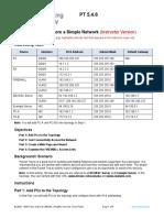 Instructor DevNet Associate Packet Tracer Activity