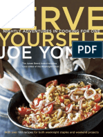 Recipes from Serve Yourself by Joe Yonan
