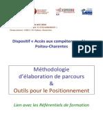 Methodologie Elaboration Parcours Outils Positionnement PDF
