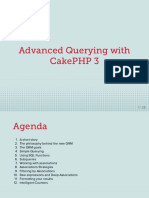 Advanced Querying With CakePHP 3