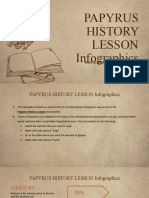 Papyrus History Lesson Infographics by Slidesgo