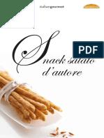 Snack Salato Dautore Ricettario