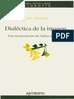 Dialéctica de La Imagen. Una Interpretación Del Sofista de Platón.masmela Carlos