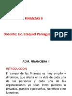ADM FIN II