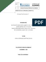 Entrega Final Escenario 7 fundamentos de la economía