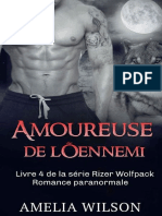 Rizer Wolfpack - Tome 4 - Amoureuse de l'Ennemi - Amelia Wilson