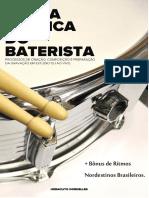 Livro- A Vida Prática Do Baterista Em Processos de Gravação Heráclito Dornelles Ano 2013