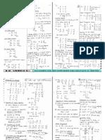 Xii Class (Formulae)