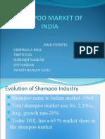 shampoo market of India