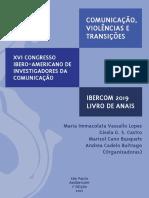 Livro Anais Ibercom 2019