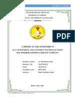 Acc Internship Report Đã Chuyển Đổi
