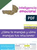 1. Inteligencia Emocional - Isabela Villamizar