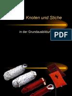 Leinen-Knoten-Stiche