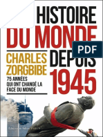 Une histoire du monde depuis 1945 - Charles Zorgbibe