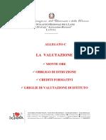 ALLEGATO C - La Valutazione