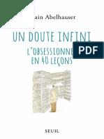 Un doute infini - Alain Abelhauser