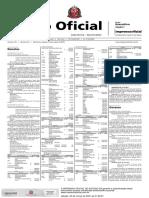 Diário Oficial do Estado de SP