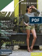 Women's Magazine Spring 2011 Edition