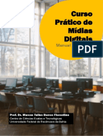 Manual de Acesso Ao Curso Prático de Mídias Digitais