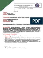 GUÍA DIAGNOSTICA- NIVELATORIA 11° - FILOSOFIA ADALBERTO HERRERA