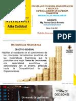 PARTE 1. MATEMATICAS FINANCIERAS
