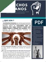 afiche sobre los derechos humanos