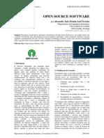 CP Artigo - Open Source Software