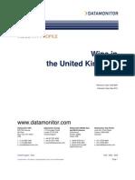Wine Industry Profile-United Kingdom