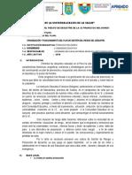 Plan de Gestión Del Riesgo de Desastre de La i.e Francisco Bolognesi (Recuperado Automáticamente)