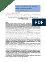 Methodical Training System Enhancements of Future Biology Teachers at Pedagogical Universities