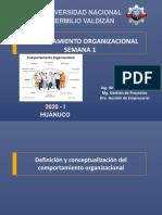 Comportamiento organizacional examen