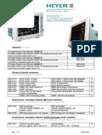 Heyer Vizor, Zubehör, IRMA, ISA, CS;  Systemkonfiguration